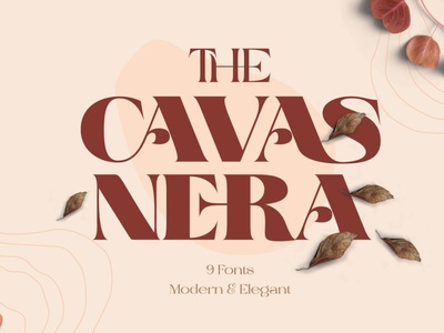 The Cavas Nera 9 Font serif elegant lettering fonts display sans serif typography design sans serif font sans serif fonts serif fonts typography art design typography fonts collection font design elegant fonts modern fonts branding logo typeface