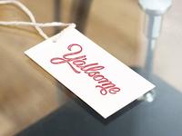 Y'allsome Logo Hangtag