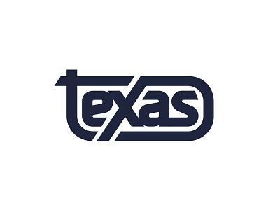 Texas Badge Logo branding typographic type lettering logo badge texas