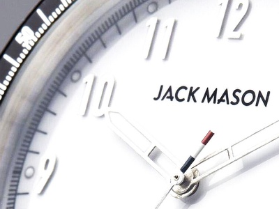 Jack Mason Logo Dial product face dial watch branding jack mason mason jack logotype logo