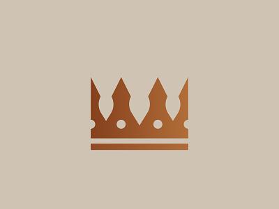 Crown logo branding graphic design design illustrator vector illustration