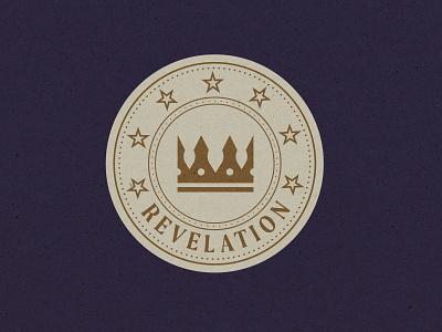 Revelation Badge 1 badge typography logo branding vector illustrator illustration graphic design design