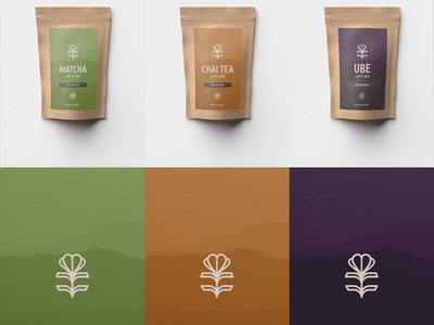 PANNA cafe latte packaging logodesign brand brand identity logo design packaging design packaging typography branding logo vector illustrator illustration graphic design design