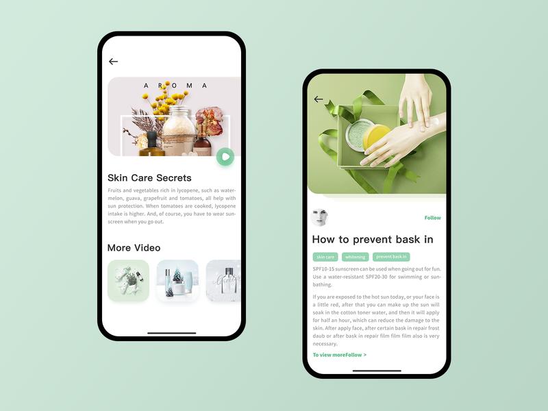 Shopping 02 life cosmetics phone shopping electricity design ux ui app