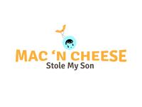 Mac 'N Cheese Stole My Son Logos