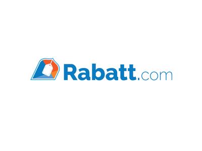 Rabatt.com in Blue and Orange