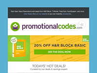 Product Specific Email Newsletter