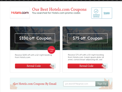 PPC Landing Page ppc landing page coupons discounts deals google ad landing page