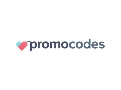 PromoCodes.com Logo Iteration promocodes.com promo codes coupon deals discount logo brand id identity brandmark