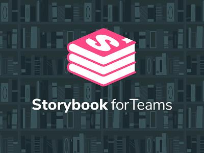 Storybook for Teams ui tools design systems logo bookshelf haiku storybookforteams