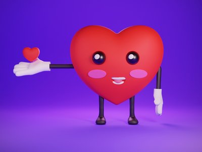 Love all blender illustration blender 3d 3d graphic design