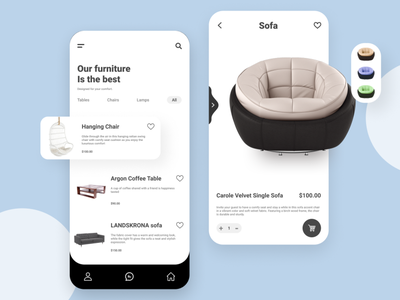 Furniture App trends trendy design mockup design fashion app furniture store sofa designer desiglounge designs ui ux uidesign uiux furniture app mobile app design mobile design mobile ui dribble furniture design furniture