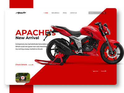 Bikes Landing Page landing page design concept concept design new design trending bikes heavy bike heavy bike bike fashion desiglounge dribble uidesign dribble shot website design landingpage uiux ui trendy design