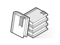 Isometric outline books