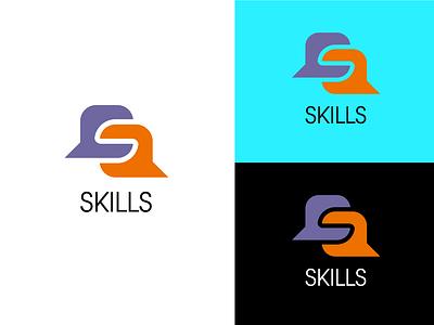 Skills - New Concept logo vector illustrator flat graphic design design icon branding