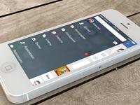 Concept app VK iOS 7