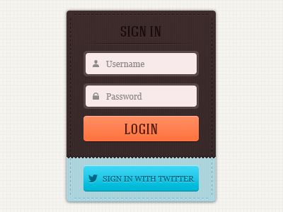 Login form sign in authorization login interface user interface ui