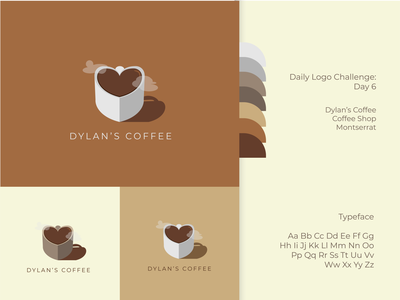 Dylan's Coffee Logo logos logo design logo illustration graphic design graphicdesign graphic daily logo challenge dailylogodesign dailylogochallenge