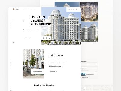Landing Page for Residental Complex designer hire work like rated top residental house figma website landing sell residence productdesign design webdesign web best ux ui