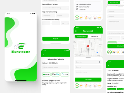 Taxi App illustration logo company rent driver taxi car mobile figma best hire like rated productdesign design app ux ui