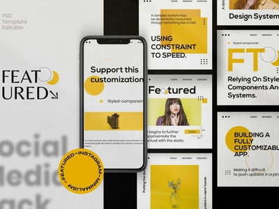 FEATURED Instagram Posts & Stories posts post story stories instagram stories template instagram stories pack instagram banner instagram post design advertising branding social media pack social media template social media instagram posts instagram stories template instagram template instagram featured