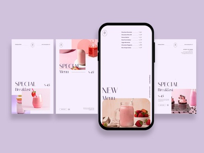 Soft Touch Food Instagram Posts & Stories Template instagram instagram tempalte intagram stories instagram posts template social media social media template branding design instagram post instagram banner social media pack posts stories story instagram story template post modern blog blogger
