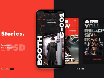 Fashion Instagram Posts & Stories fashion brand instagram instagram template instagram stories instagram posts social media social media template branding design instagram post instagram banner instagram templates instagram story template instagram post template stories story template advertising color fashion