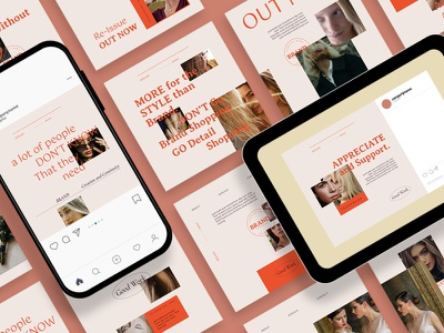 Modest Elegant Instagram Post Template instagram instagram template instagram stories instagram posts template social media social media template branding design instagram post instagram banner social media pack posts stories story instagram story template post modern blog blogger