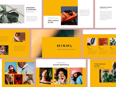 Creative PowerPoint Template template multipurpose template multipurpose keynote google slides web development web design website modern clean unique corporate company studio photography colorful pitch deck powerpoint business creative