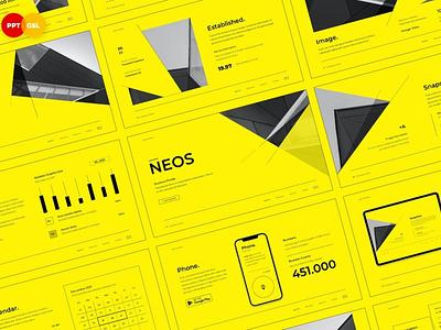 NEOS - Company Profile design template powerpoint multipurpose template multipurpose keynote google slides web development web design website modern clean unique corporate portfolio company profile company studio pitch deck colorful