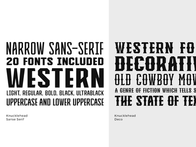 Knucklehead Font Family rustic font vintage serif font headline font font family western graphicdesign headfonts typeface font
