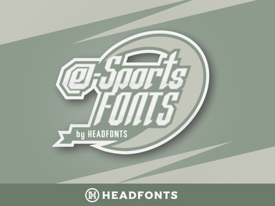 eSports Fonts | Modern Paired Duo professional business graphic design sport sport font design custom typography typeface type headfonts font