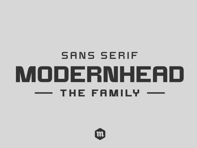 Modernhead Typeface   Font branding graphic design professional sans serif font clean font modern font custom type typography headfonts font typeface