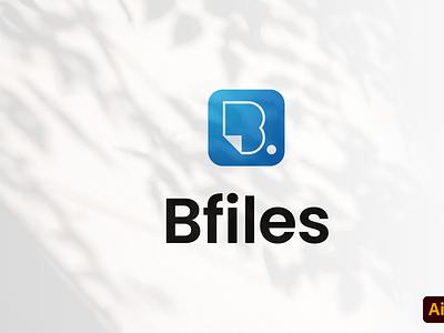 Bfiles logo type design modern professional bfiles work craft branding graphic design logo tamplate logo design logo