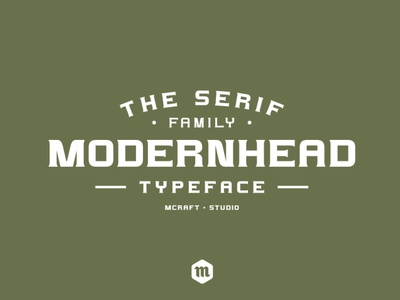 Modernhead Serif Typeface | Font vintage serif font professional modern font business name business illustration letters design custom type typography headfonts font typeface