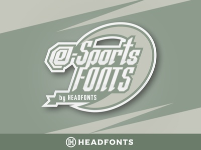 eSports Fonts   Modern Paired Duo work professional branding sport font illustration design letters custom typography type headfonts font typeface