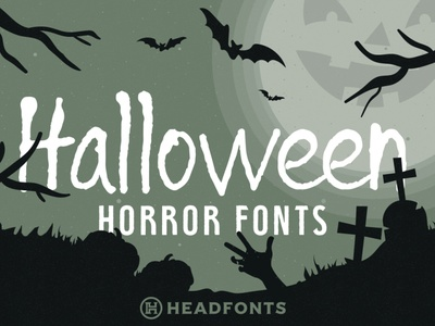 Halloween Horror Font Bundle professional branding font bundle bundle party halloween font halloween illustration design letters custom type typography font headfonts typeface