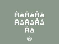 Modernhead Serife Typeface