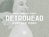 Retrohead Typeface