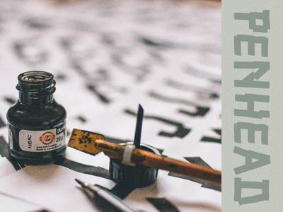 Penhead typeface