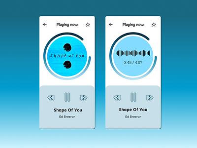 Music Player modern dailyui 009 009 dailyuichallenge ui design dailyui 100daychallenge music play now songs music album music player music app
