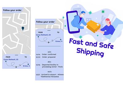 Location Tracker dailyuichallenge ui design 100daychallenge daily ui mv order food delivery shipping location app location daily ui 020 dailyui 020 dailyui location tracker location pin