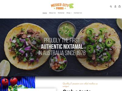 Mexico City Foods - Website