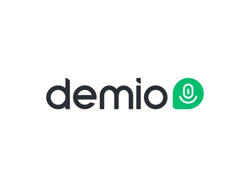 Demio smart by design tech startup startup saas product minimal logo mark brand system brand studio branding guidelines logo construction logodesign webinar platform webinar technology conference logo webinar
