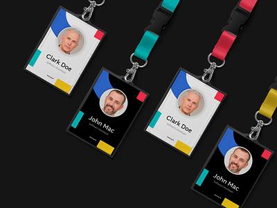 UAY - Name Badges color brand studio identity studio identity design brand design branding and identity software company software startup aiste minimal branding agency branding logo