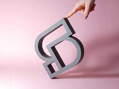 smart by design - paper model icon paper art papercraft photo design branding studio branding design logo design aiste minimal branding agency logo mark icon branding logo