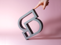 smart by design - paper model icon