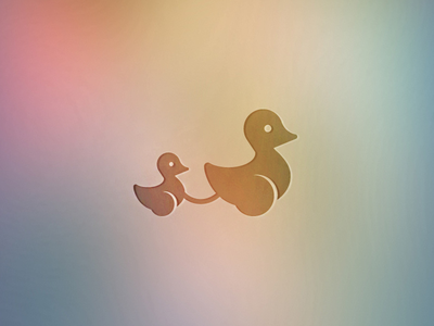 Duck mommy icon