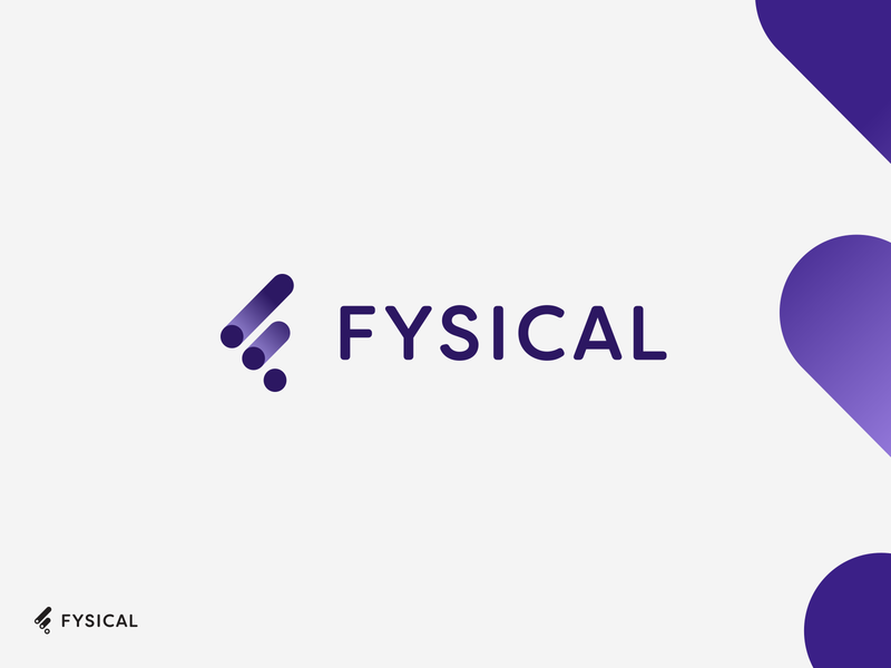 Fysical.com - logo development smart by design aiste retailtech retailtech regtech privacy blockchain biometric identity design branding branding agency fintech branding studio fintech branding fintech biotechnology biotech data data visualization