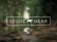 STONE BEAR logo design